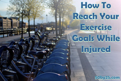 2013-07-24 How To Achieve Your Exercise Goals While Injured