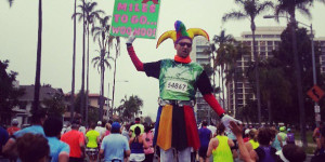 Personally, I found this sign that was 0.2 miles into the Rock N Roll San Diego Marathon to be plenty entertaining.