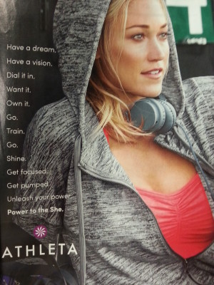Athleta Ad
