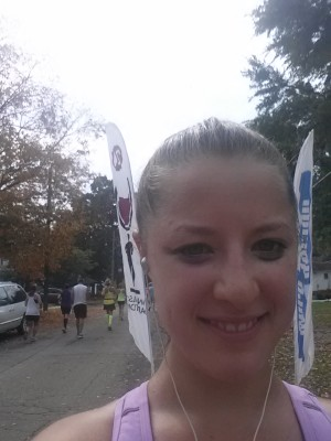 Wineglass Marathon Mile 24 Selfie