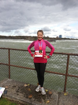 Niagara Marathon 2013 Finish