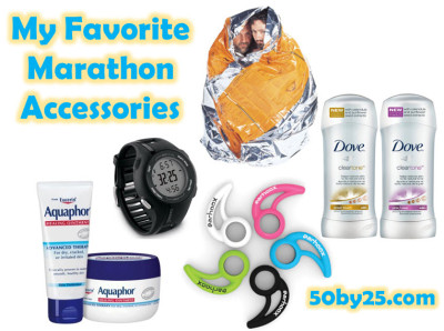 Favorite Marathon Accessories
