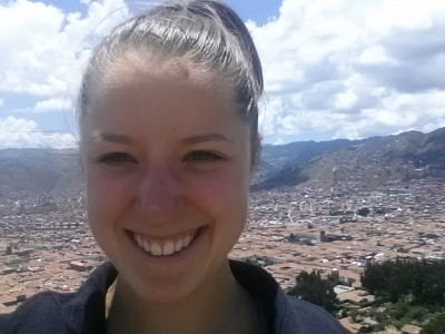 Me at the Top of the Cristo Blanco Hike