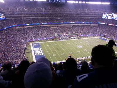 MetLife Stadium, Giants vs Steelers
