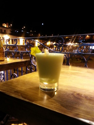 Pisco Sour in Cusco