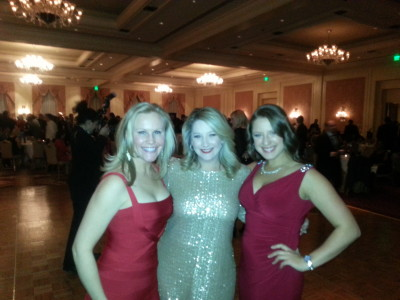 Ladies At Holiday Party