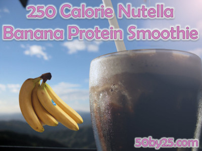 Nutella Banana Protein Smoothie