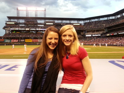 Front Row Coors Field