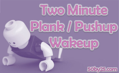 2 Minute Plank / Pushup Wakeup