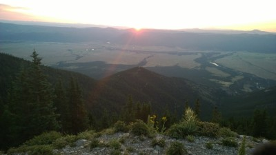 Sunrise From Mt Princeton