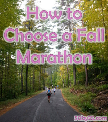 How to Choose A Fall Marathon