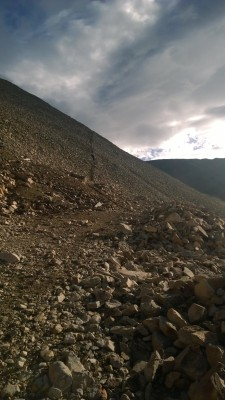 Scree Mt Sherman