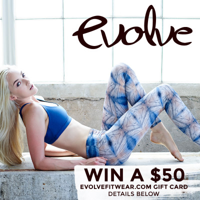 Evolve Fitwear Giveaway