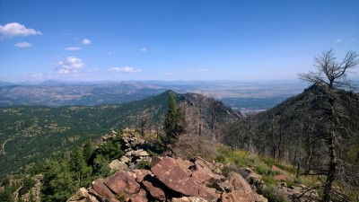 View From South Boulder Peak