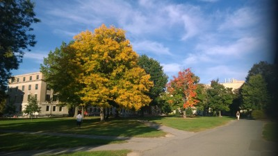 Fall Colors Cornell Ag Quad