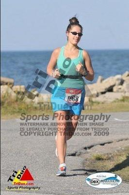 Running Outer Banks Marathon 2009