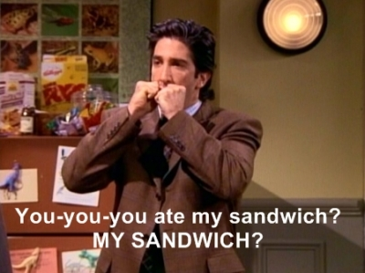 Ross' Thanksgiving Sandwich