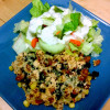 Girls' Night In / Healthy Meal: One-Pot Chicken Taco Casserole