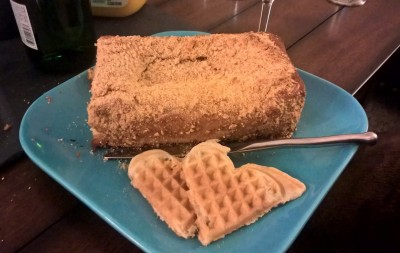 Krusteaz Coffee Cake and Waffles