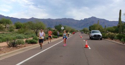 Lost Dutchman Mile 14 (My Finish)