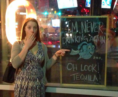 I'm Never Drinking Again... Oh Look, Tequila!