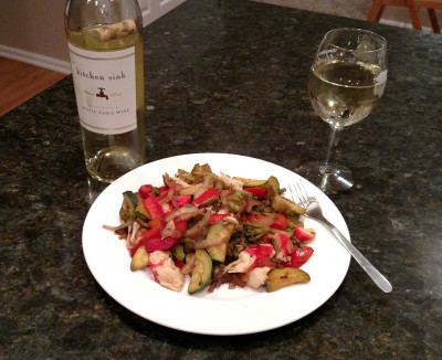 Wine and Stir Fry