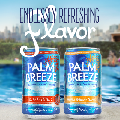 Palm Breeze - Endlessly Refreshing Flavor