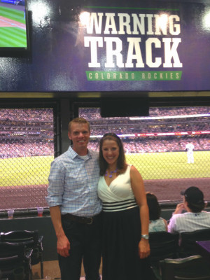 Adam_And_Laura_At_Rockies_Game