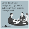 The Power of a Lunch Break