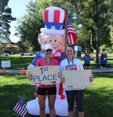 laura_3rd_place_patriots_5k