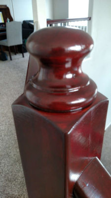 cherry_newel_post