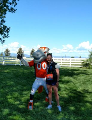 Broncos_7K_Meet_And_Greet_With_Miles_the_Mascot