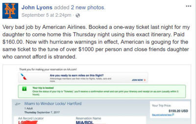 John_Lyons_Claims_AA_Price_Gouging