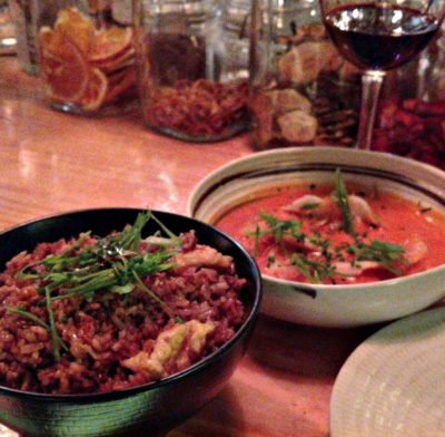 Pink_Monkey_Madrid_Red_Curry_Dumplings_Fried_Rice