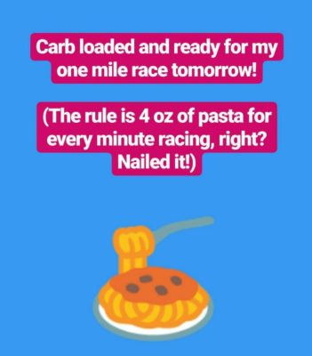 Carb_Loading_For_One_Mile_Race