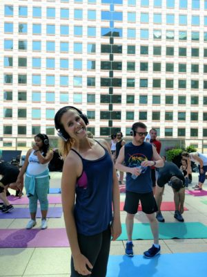 Amanda_at_Fitbit_Local_Workout