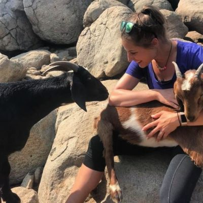 Laura_and_Goats_at_Green_Oak_Ranch