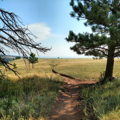 Stretching_Trail_on_Spring_Brook_Mesa