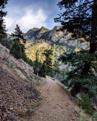 Hike_Running_Up_Eldorado_Canyon