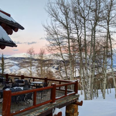 Zachs_Cabin_Porch_At_Sunset